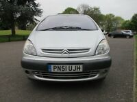 2001 CITROEN XSARA PICASSO 2.0 HDI SX MOT JULY 2017 DRIVES FINE LOADS OF HISTORY PX TO CLEAR PX SWAP