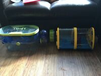 Hamster or small pet cages x 2 £10 for the pair