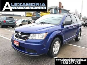 2012 Dodge Journey SE Plus 7 passengers safety included