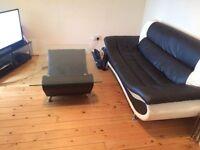 Must go tomorrow sofa and table £30 ono