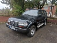 Toyota Land Cruiser Amazon 1996 7 Seater 4x4 AUTO*Spares Or Repairs*Starts and Drives*EXPORT*Project