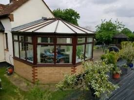 UPVC dwarf wall conservatory for sale