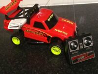 Tyco radio controlled car