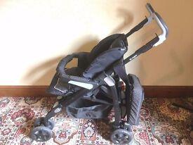 SILVER CROSS 3D PRAM & PUSHCHAIR TRAVEL SYSTEM PLUS VENTURA INFANT CAR SEAT