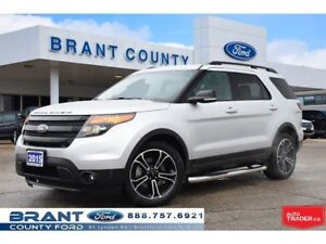 2015 Ford Explorer Sport - NAV, REMOTE START, CLEAN CARPROOF!