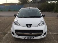 For sale 61 reg Peugeot 107 automatic fully sports