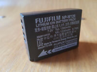 Genuine Fuji NP-W126 battery for Fuji mirrorless cameras.
