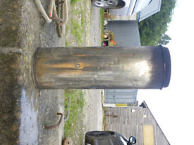 Stainless Steel Insulated Twin Wall Flue (500mm)