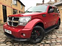 Dodge Nitro 2.8 CRD SXT 5dr, p/x welcome **FULL S/H**6 MONTHS WARRANTY* 2007 (07 reg), SUV