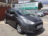 Ford B-Max 1.5 TDCi Zetec 5dr£7,500 p/x welcome 1 YEAR FREE WARRANTY. NEW MOT