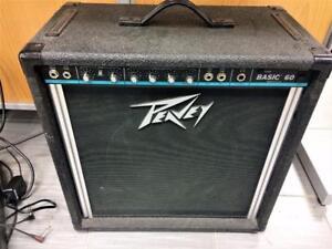 Amplificateur de basse PEAVEY Basic 60 ***Testé et Garanti***  #P001139