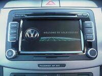 "VW RCD 510 RCD510 6.5"" Colour Touch-Screen Radio, 6 Disc CD & SD Card Player"