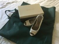 Jacques Vert Pearl sandles size 6