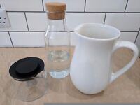 Jug, carafe & teapot set