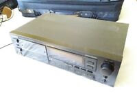 Pioneer CT-447 stereo audio cassette twin tape deck with Dolby HX Pro ***FREE***