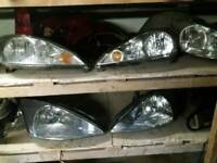 3 sets Mk1 Focus Headlights/ Headlamps