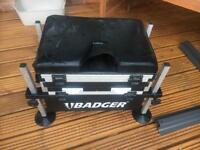 Badger fishing box
