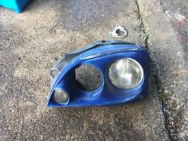 Saxo mk2 morette headlights
