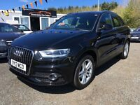 2013 Audi Q3, S Line, 28,000 Miles 12 MONTHS WARRANTY, Finance Available