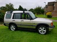 2001 LAND ROVER DISCOVERY 2 TD5 XS DIESEL MET GOLD 5 SEATS MANUAL 4X4 LONG TEST