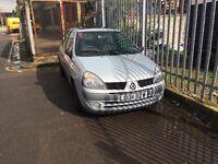 Renault clio 1.2. 16v. Petrol. Please call me 07586450844