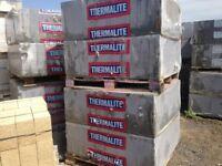 26 x Packs Thermalite Breeze Blocks 440 x 215 x 100