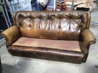 79's leather sofa