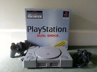 Sony Playstation (PS1) Bundle - Boxed Console, Accessories and 23 Games