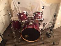 Mapex M Series Drum Kit - Cherry Red