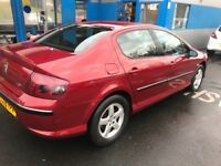 2005 Peugeot 407 Se Hdi 1.6L (110 BHP) 4 door saloon one year mot just done service low mileage