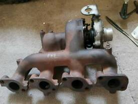 Ford Mondeo turbocharger and manifold