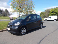 TOYOTA AYGO LIMITED EDITION BLAC 2006 ONLY £20 PER YEAR ROAD TAX BARGAIN £1195 *LOOK* PX/DELIVERY
