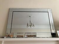 3 foot mirror ideal for above fireplace