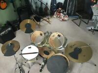 Drum kit with stool