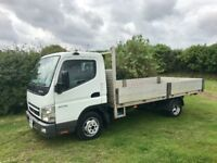 MITSUBISHI CANTER FUSO 3.0 DIESEL 14FT TRUCK 2007 07REG ONLY 68000 MILES 1 YEARS MOT DRIVES LIKE NEW