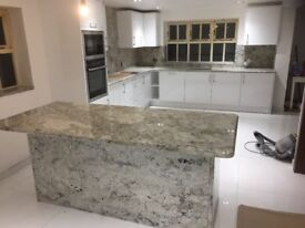 Granite,Quartz,Marble kitchen worktop