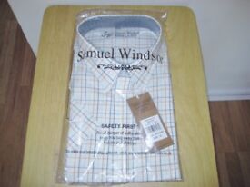 Samual Windsor Short Sleeve Shirt XL. New Unopened And Unused.