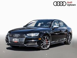 2018 Audi S4 3.0T Technik W/ QUATTRO SPORT DIFFERENTIAL