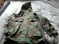 Goretex camouflage jacket size xl