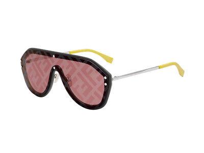 Sonnenbrille Fendi Ff M0039 / G/S GRAU Verziert KB7/7y