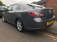 MAZDA 6 manual gear ,Petrol, Genuine Mileage with long MOT (Nov 2017). Full Service history