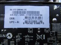 R9 270 Gaming (AmD Compatible) 2G w/Overclocking