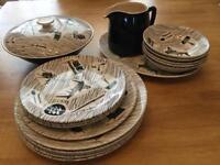 1950s Homemaker crockery - remainder of set