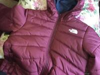 North face inversible coat