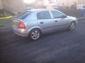 Vauxhal astra 1.6 cheap low miles