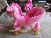 Rockin unicorn