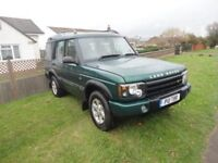 Land rover discovery td5 adventure 7 seater automatic