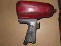 snap on blue point air impact gun 1/2