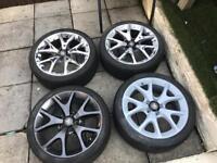 Corsa 18inch vxr wheels