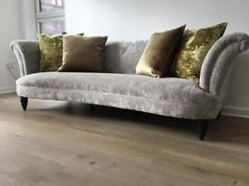 Concerto 4 seater sofa,chair and footstool